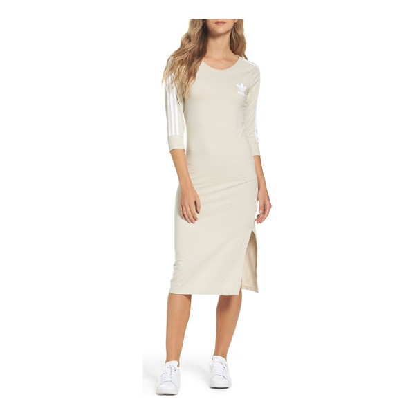 ADIDAS originals 3-stripes dress - Sporty meets street-cool in this easy, breezy T-shirt dress...
