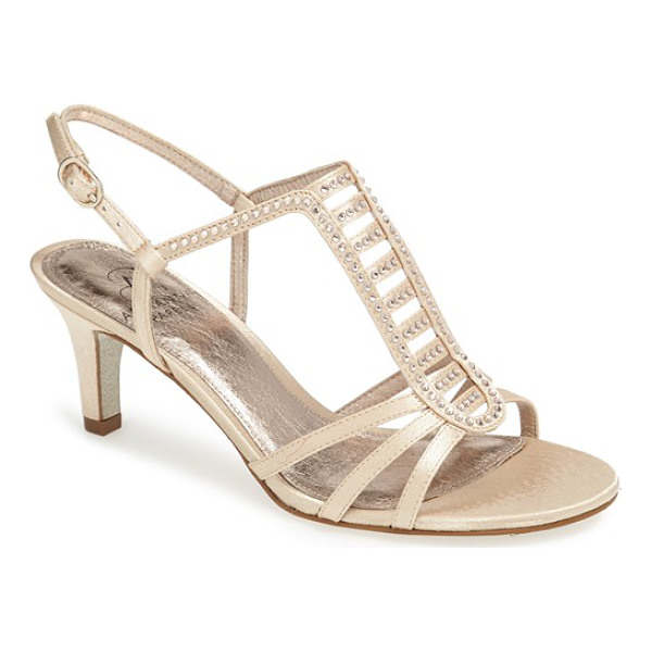 ADRIANNA PAPELL ainsley sandal - Tiny sparklers lend shimmer and grace to the slender straps...