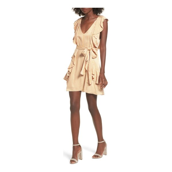 AFRM clara ruffle minidress - When it comes to ruffles, the more the merrier-especially...