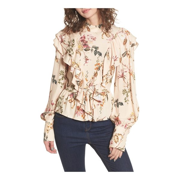 AFRM uma ruffle peplum top - Give your look some romantic sensibility with this elegant...