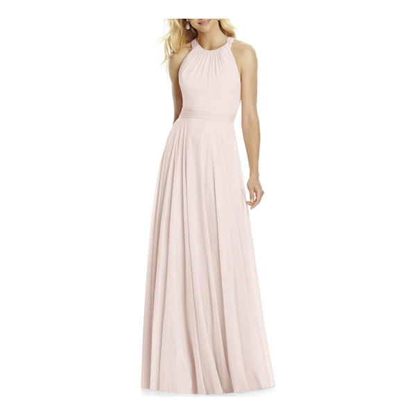 AFTER SIX chiffon a-line gown - Made with layers of lightweight chiffon, this ethereal gown...
