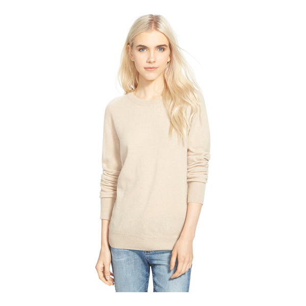 AG ADRIANO GOLDSCHMIED rylea crewneck cashmere sweater - The decadent softness of pure cashmere elevates a classic...