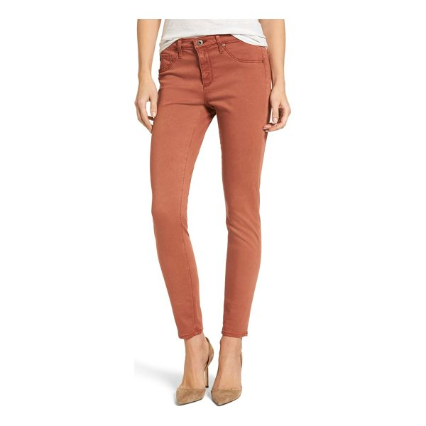 AG ADRIANO GOLDSCHMIED the legging ankle jeans - Cut in a curve-sculpting silhouette with a sateen sheen,...