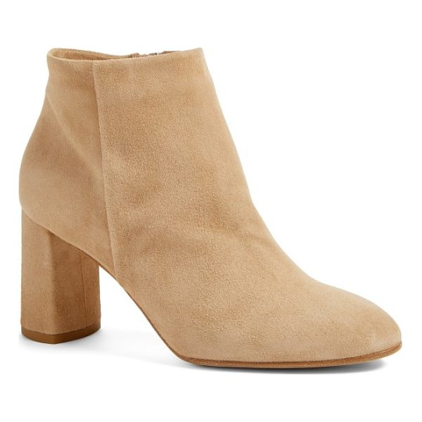 ALBERTO FERMANI aster bootie - A wrapped block heel lifts a streamlined bootie crafted...