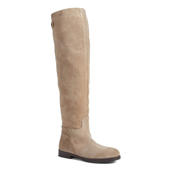 ALBERTO FERMANI dora over the knee boot - Clean, uncomplicated styling delivers a long, lean look in...
