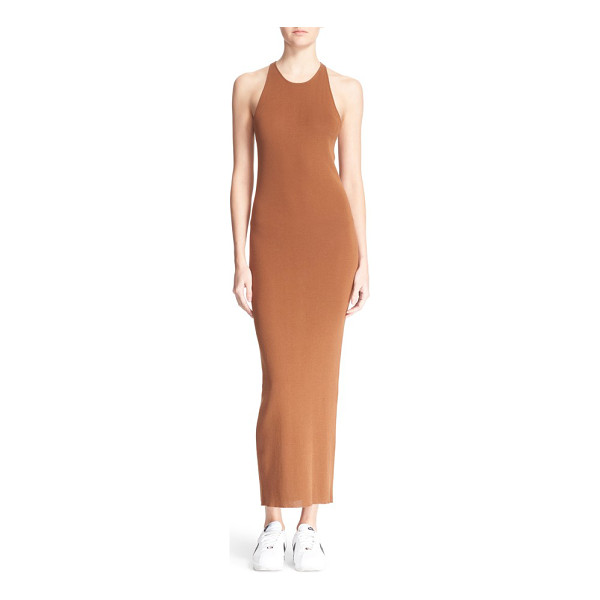 A.L.C. marc body-con maxi dress - Classic in style and silhouette, this curve-hugging,...