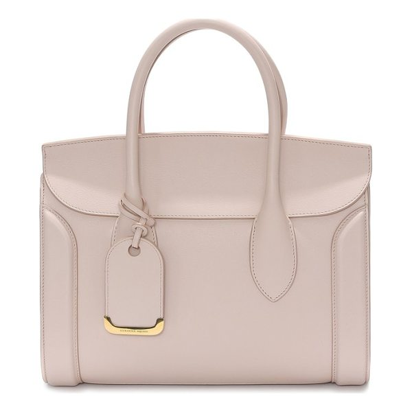 ALEXANDER MCQUEEN medium heroine calfskin leather shopper - A signature bag from Alexander McQueen gets a fresh update...