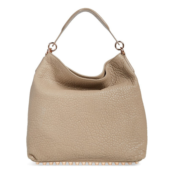 ALEXANDER WANG Darcy lambskin leather tote - Grainy lambskin leather makes a lavish statement on a...