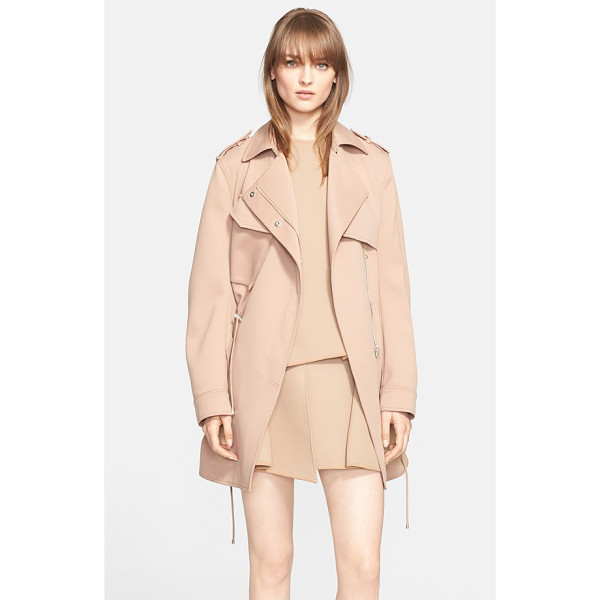 ALEXANDER WANG drawstring parka - A drawstring-cinched parka cut from technical fabric for a...