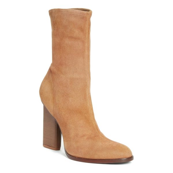 ALEXANDER WANG 'gia' boot - An inset stacked heel maintains the streamlined silhouette...