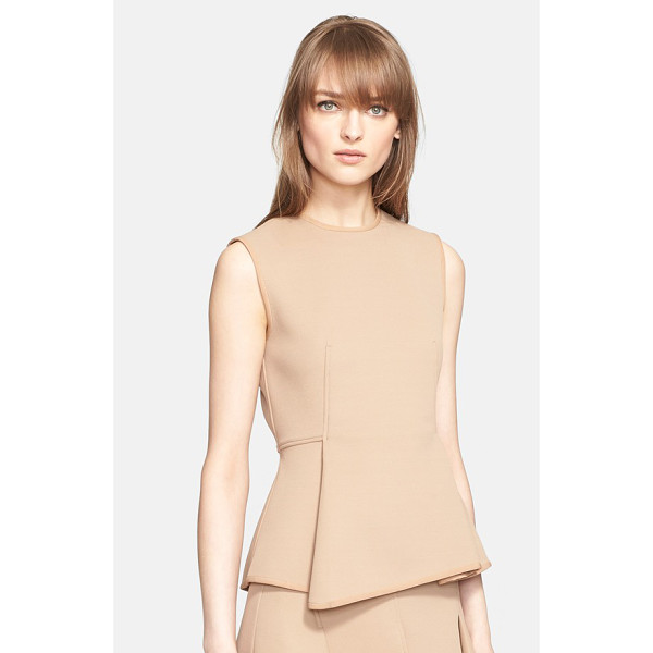 ALEXANDER WANG paneled detail sleeveless top - An Italian tech fabric made from bonding three-dimensional...