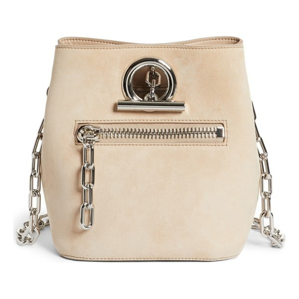 ALEXANDER WANG riot suede crossbody bag - Tough street style and buttery-soft suede meet on a plush...