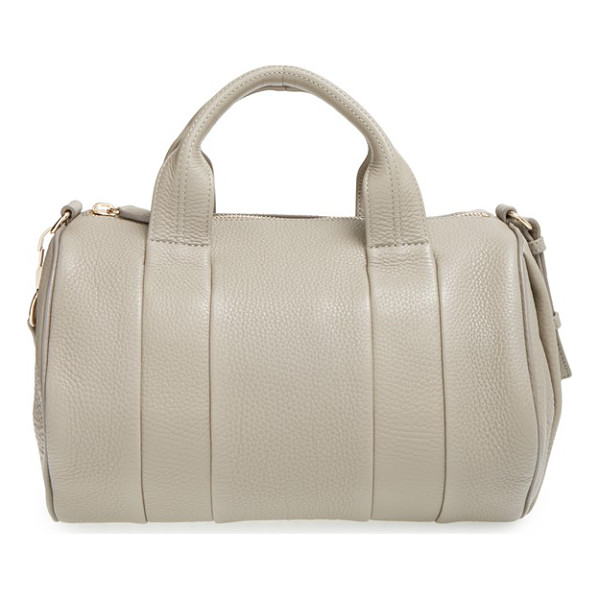 ALEXANDER WANG Rocco - It's all about texture on a ripple-grained leather satchel...