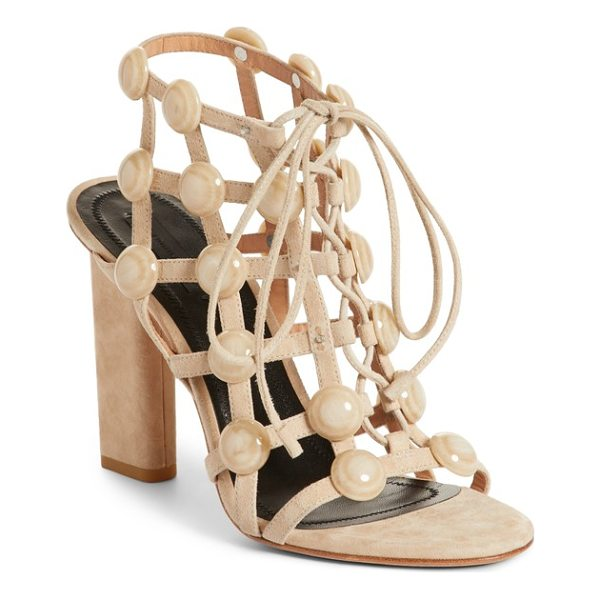 ALEXANDER WANG rubie studded sandal - Gleaming dome studs bring eye-catching dimension, while...