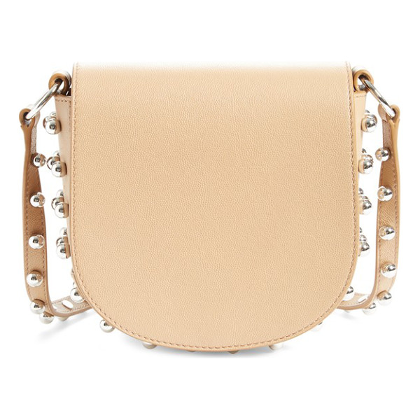 ALEXANDER WANG 'small lia' leather crossbody bag - Smooth Italian leather in a wear-with-anything neutral hue...