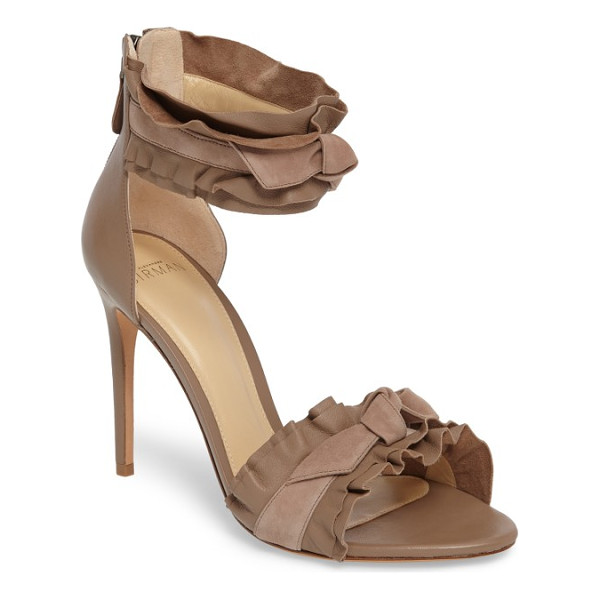 ALEXANDRE BIRMAN aletta ruffle sandal - Layers of of soft leather ruffles bring season-essential...