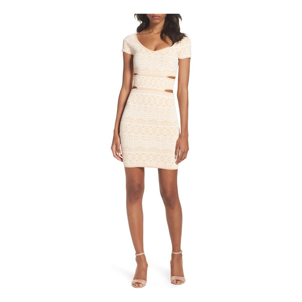 ALI & JAY botanical seduction cutout dress - Step out for brunch in a figure-flaunting cocktail dress...