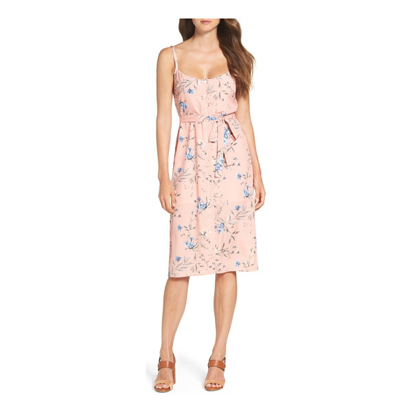 ALI & JAY flower frolicking midi dress - Turn up the charm in this floral slipdress that enhances...