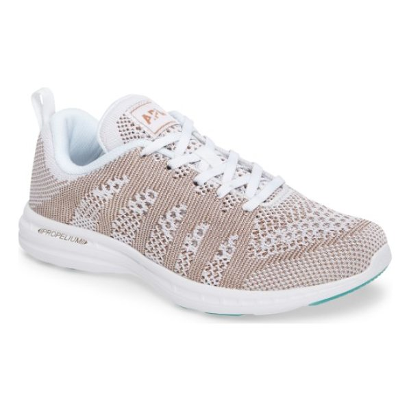 APL: ATHLETIC PROPULSION LABS 'techloom pro' running shoe - This street-smart sneaker grounded with treads inspired by...