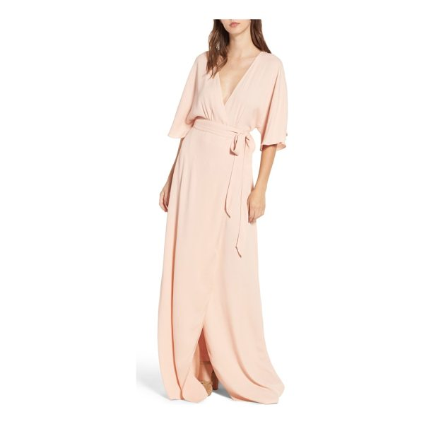 AFRM monroe wrap dress - Not your average wrap dress-with a plunging front and back,...