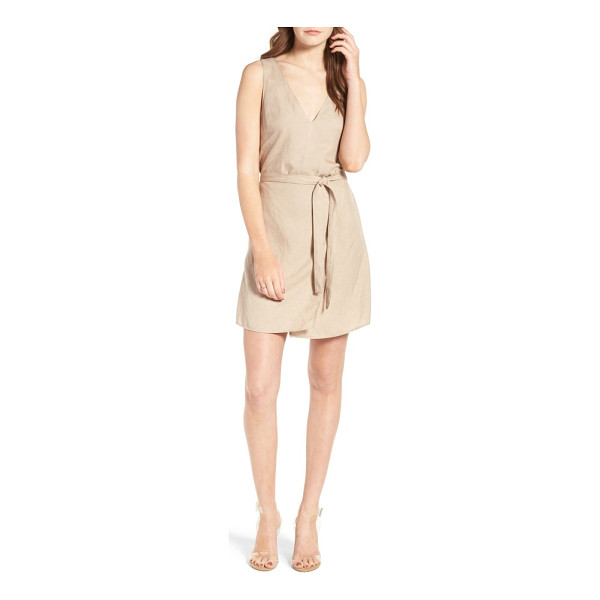 ASTR THE LABEL odette linen dress - Lightweight linen and clean lines inspire a sense of ease...