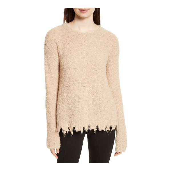 ATM ANTHONY THOMAS MELILLO destroyed hem sweater - Like an old favorite you can't stop wearing, this soft and...