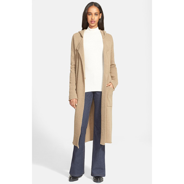ATM ANTHONY THOMAS MELILLO double breasted felted wool blend coat - A textured wool blend enhances the cozy warmth and comfort...