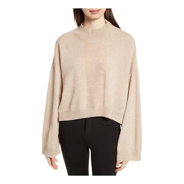 ATM ANTHONY THOMAS MELILLO wool & cashmere sweater - Widely flared sleeves and dropped shoulders enhance the...