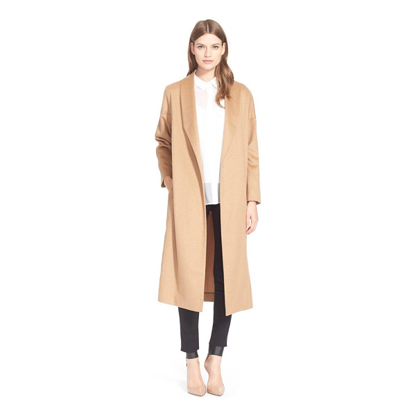 AYR the robe camel hair maxi coat - Sumptuous camel hair fabrication and minimalist design make...