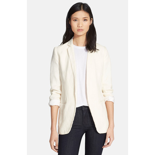 AYR the rumpled linen blazer - Add the breezy sophistication that only linen can provide...