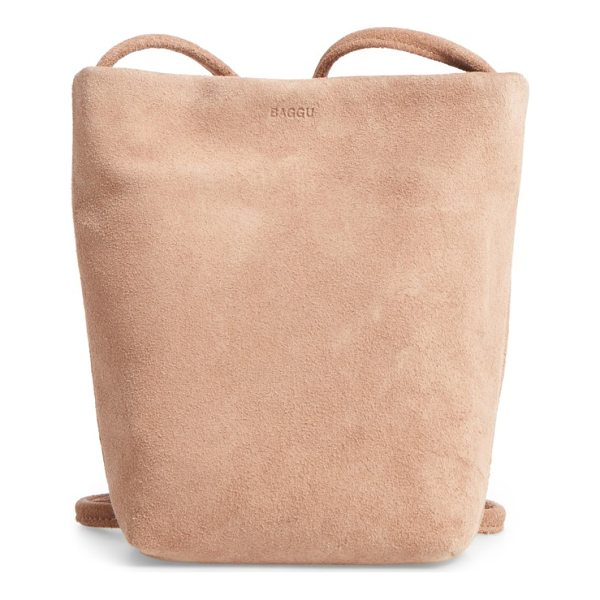 BAGGU leather crossbody bag - Casually elevate your around-town style with a minimalist...