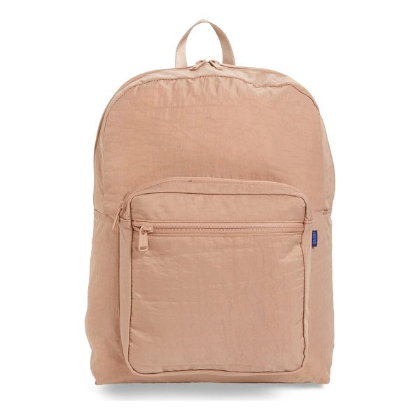 BAGGU nylon backpack - Perfect for overnight getaways or commuting to work or...