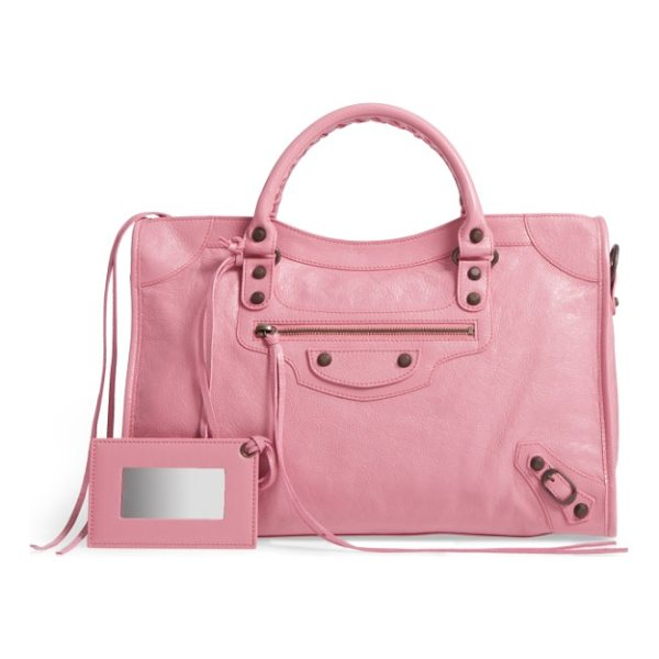 BALENCIAGA classic city leather tote - One of the most iconic bags around, the cult-favorite City...