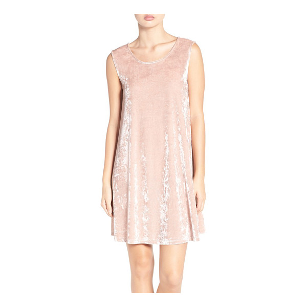 BB DAKOTA astell crushed velvet trapeze dress - Crushed velvet is back this season and is as luxe and...