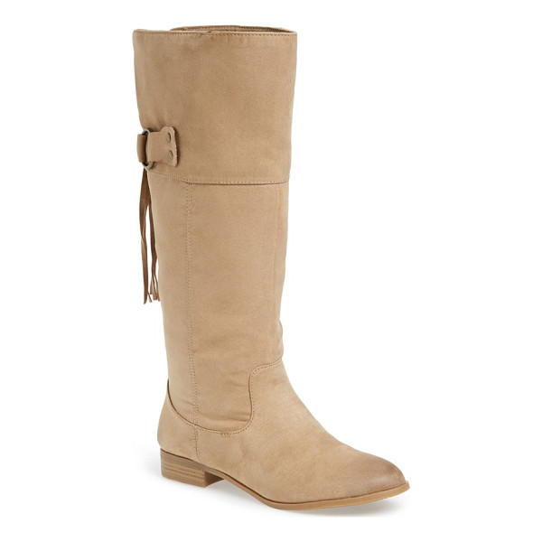 BC FOOTWEAR collective boot - Fashionable fringe details a soft, faux leather boot...