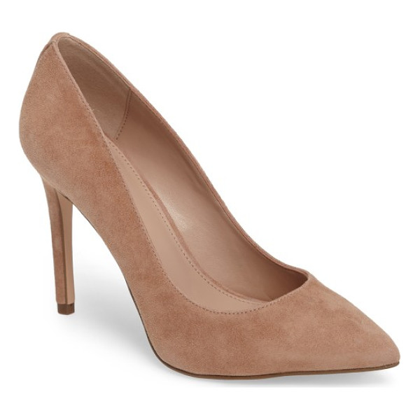BCBG heidi pump - A wrapped stiletto heel supports an essential pointy-toe...