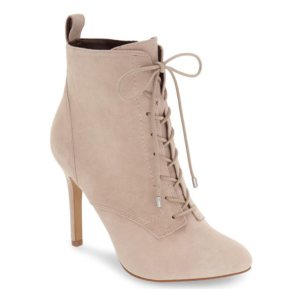 BCBGENERATION banx lace-up bootie - A tall stiletto heel takes vintage Victorian style to new...