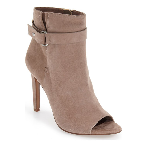 BCBGENERATION 'carolena' peep toe bootie - Whether you're on or off the clock, this peep-toe ankle