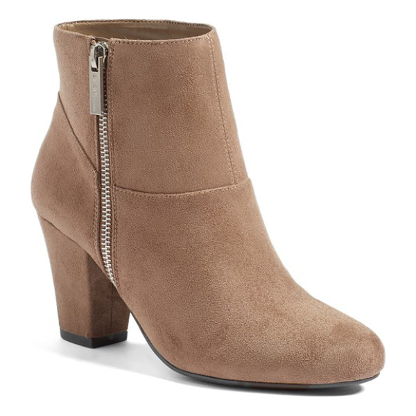 BCBGENERATION 'devvin' ankle bootie - Clean, uncomplicated lines and interesting seaming look...