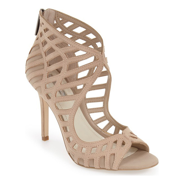 BCBGENERATION 'drita' sandal - Gorgeous cutouts framed in meticulous tonal stitching...