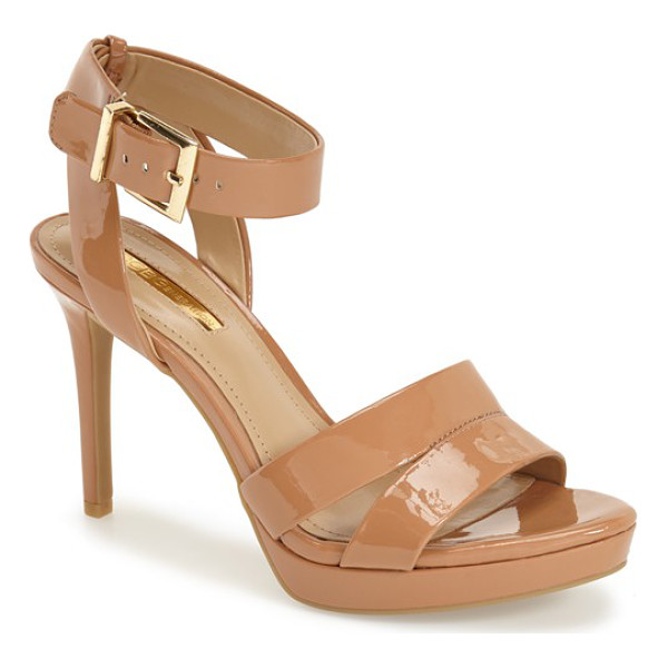 BCBGENERATION elka sandal - Crisscrossed ankle straps add to the elegance of a chic...