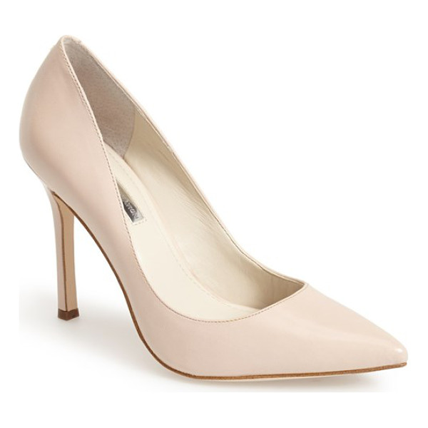 BCBGENERATION treasure pointy toe pump - A curvy, low topline and leg-lengthening pointy toe add to...