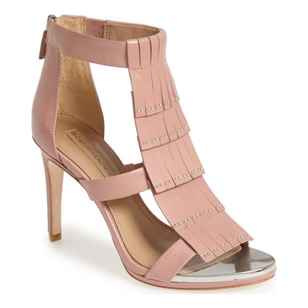 BCBGMAXAZRIA leigh high sandal - Fringe is big news for the season, and this new sandal from...