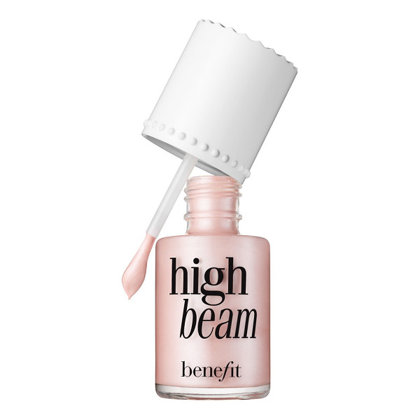 BENEFIT COSMETICS benefit high beam satiny pink liquid highlighter - What it is: A satiny-pink liquid highlighter. What it does:...