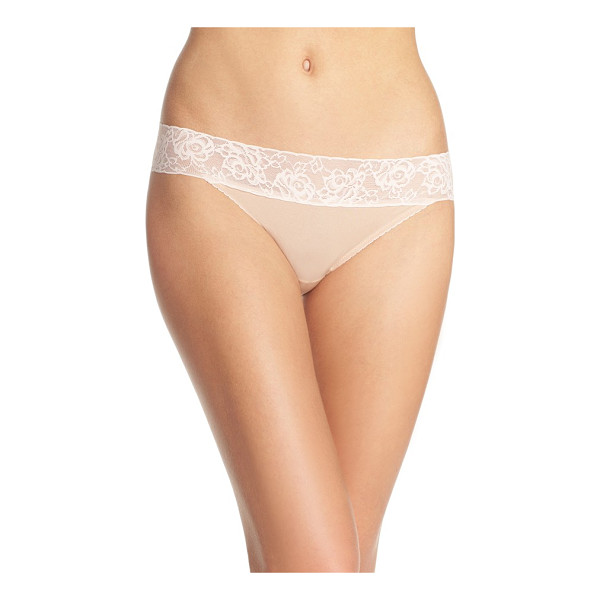 BETSEY JOHNSON forever perfect hipster panties - A lacy hip-hugging waistband adds to the flattering, cheeky...
