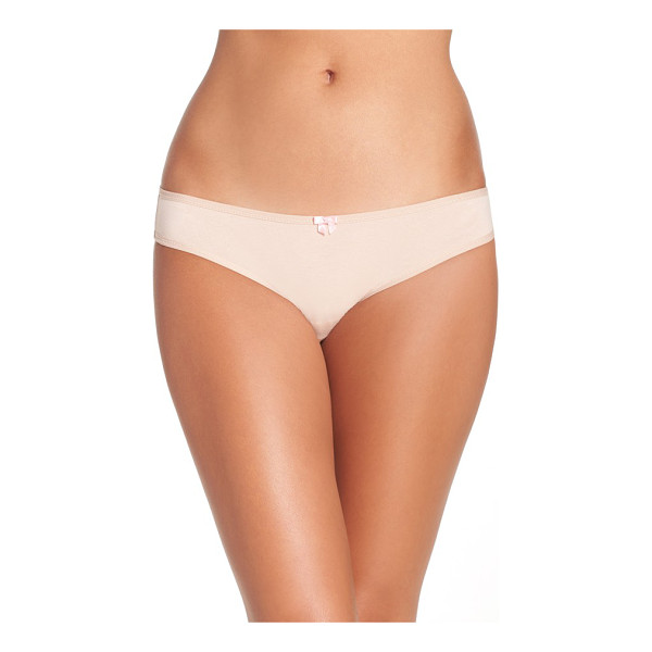 BETSEY JOHNSON hipster briefs - Everyday comfort meets flirty charm in these knit panties,...
