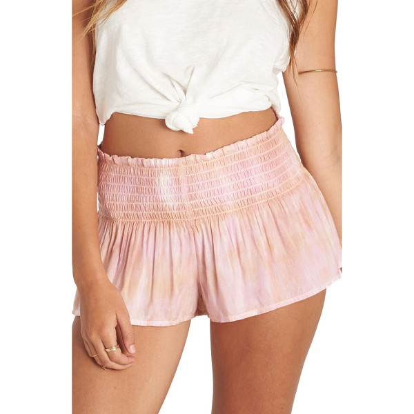 BILLABONG breezy day tie dye shorts - Made for a breezy day at the beach, tie-dyed shorts topped...
