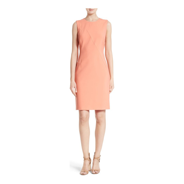 BOSS demisana sheath dress - Bring a dash of spring color to your closet with this...