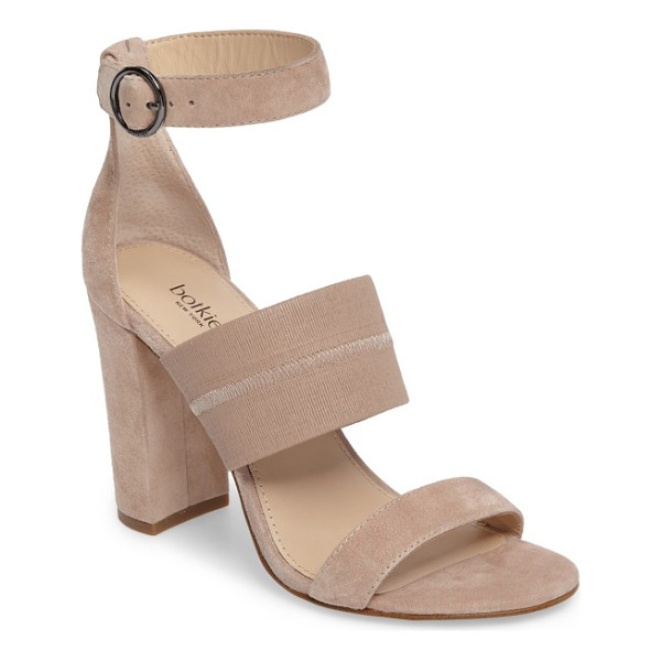 BOTKIER gisella ankle strap sandal - A wide elasticized strap across the top perfects the fit of...
