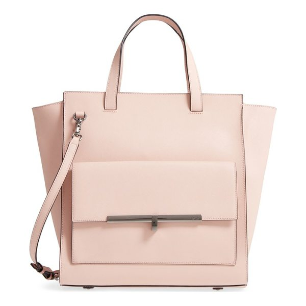 BOTKIER jagger leather tote - Polished hardware highlights the smart silhouette of a...